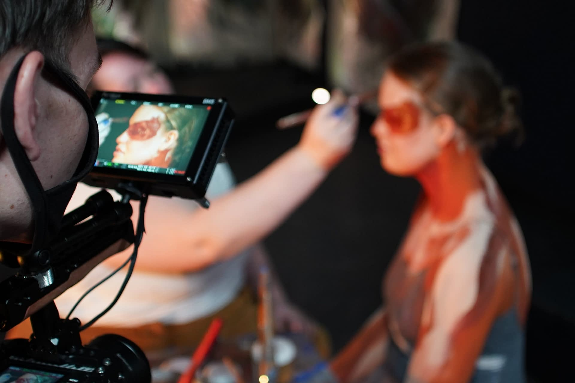 MJS Live Shoots Dance Film: Nella Luce